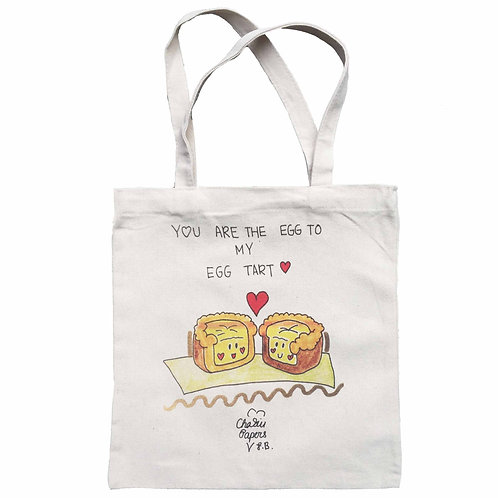 You are the egg to my egg tart Tote Bag