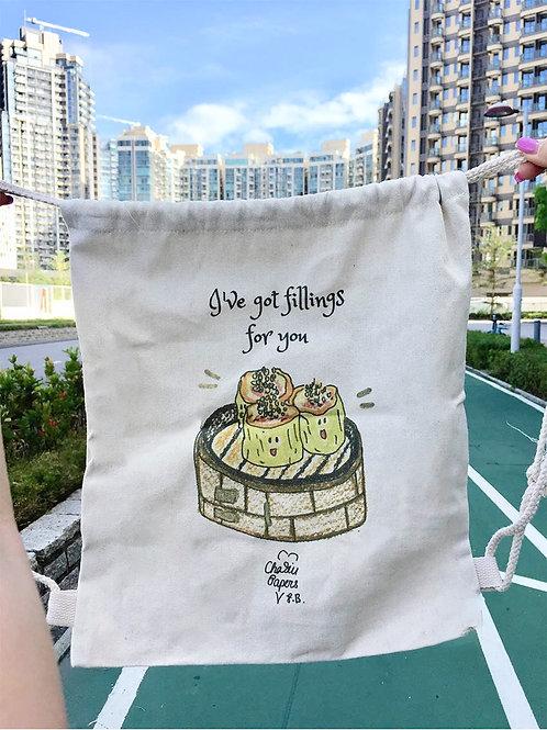 I've got fillings! Drawstring bag