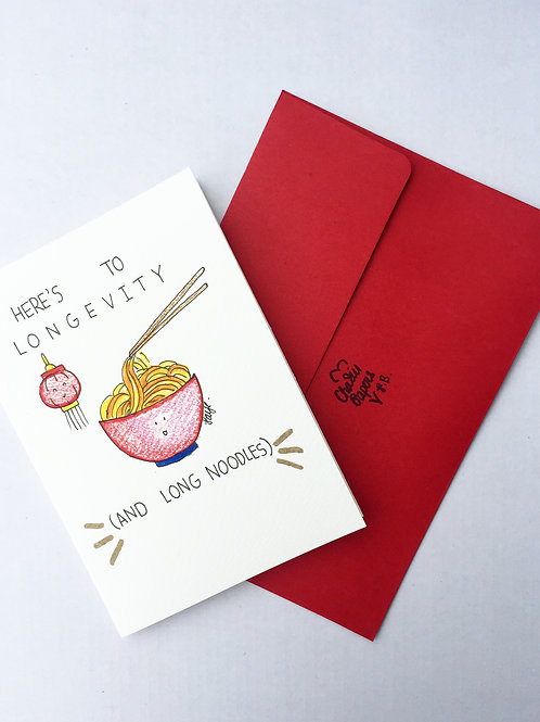Here's to longevity (and long noodles)!