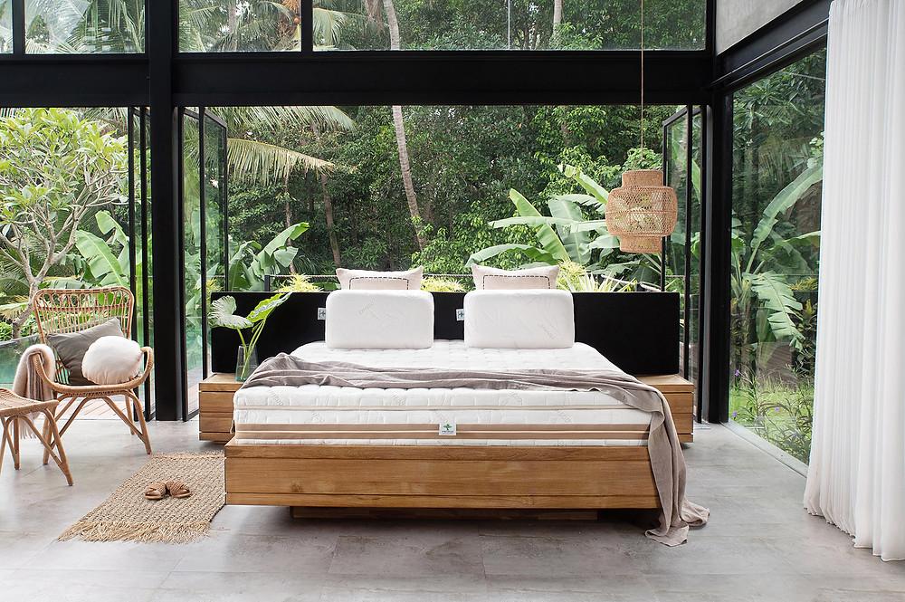 Heveya Natural Organic Latex Mattress III by Okooko by European Bedding