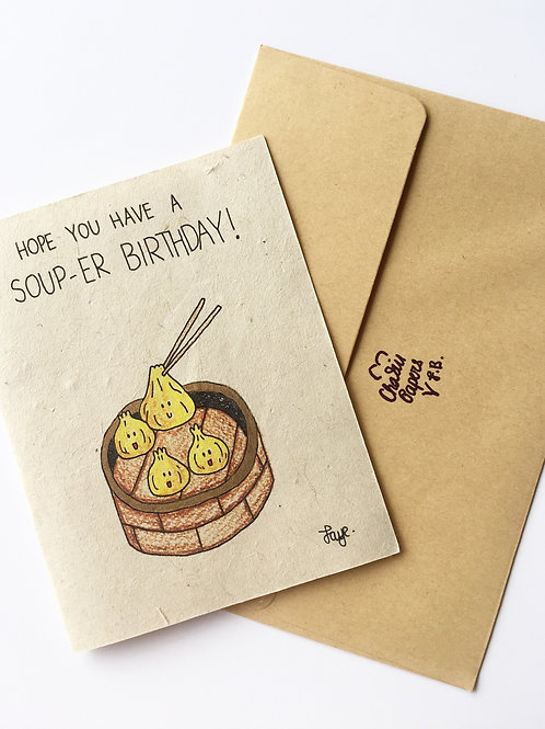 Plantable have a soup-er birthday