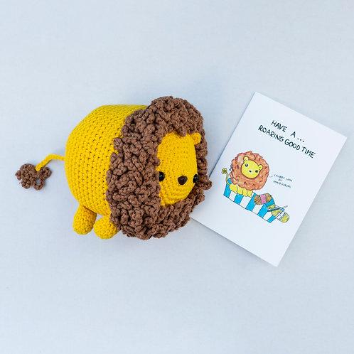 Cha Siu Papers x Anniegurumi: Chubby Lion Set