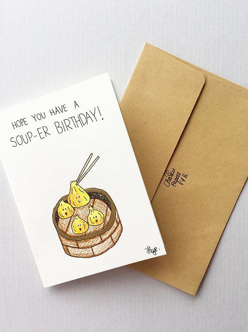 Soup-er birthday