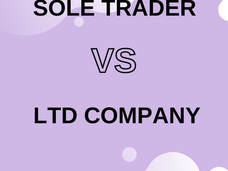 Sole Trader or Ltd Company?