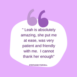 Testimonial from Stephanie Purcell