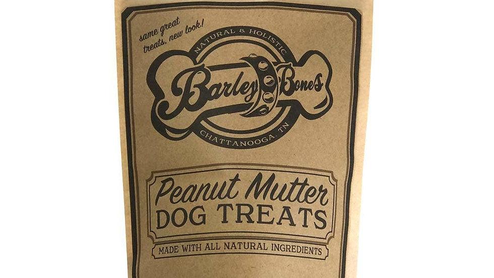 Peanut Mutter Dog Biscuits