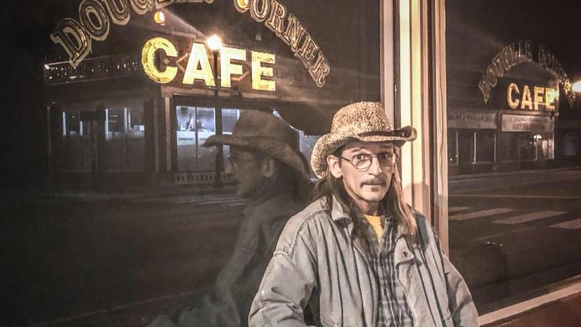 Playing at Douglas Corner Cafe