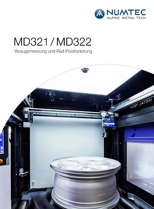 MD321 - MD322 Verzugsmessung und Rad-Pos