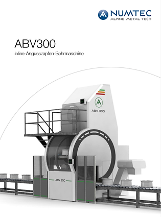 ABV300 Inline-Angusszapfen-Bohrmaschine.