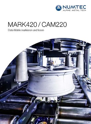 MARK420 - CAM220 Data Matrix markieren u