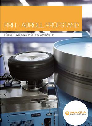 RRH - AbRoll-pRüfstAnd - füR die eRmüdun