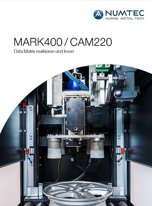 MARK400 - CAM220 Data Matrix markieren u