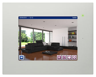 pantalla domotica compatible con videoportero