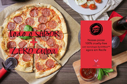 Cruelty-free Pizza