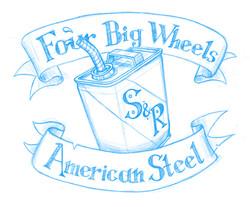 Four Big Wheels Sketch