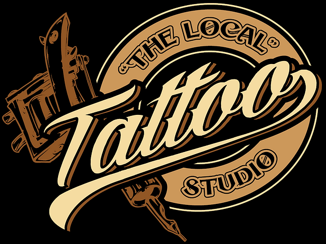"""The Local"" Tattoo Studio Logo"