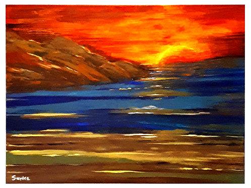 Sun Rise (original Acrylic)