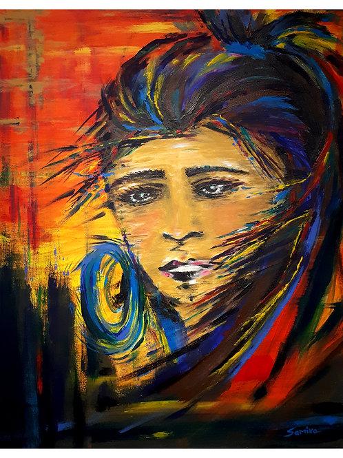 Women Power(original acrylic) SOLD