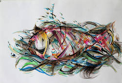 SOLD - Plasticated Fish