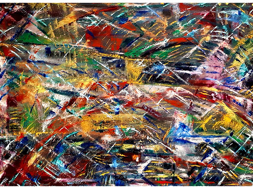 Space Debris (original oil)