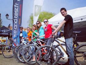 Réserver un vélo test au départ des différents parcours de la Jean Racine le 11 et 12 AVRIL