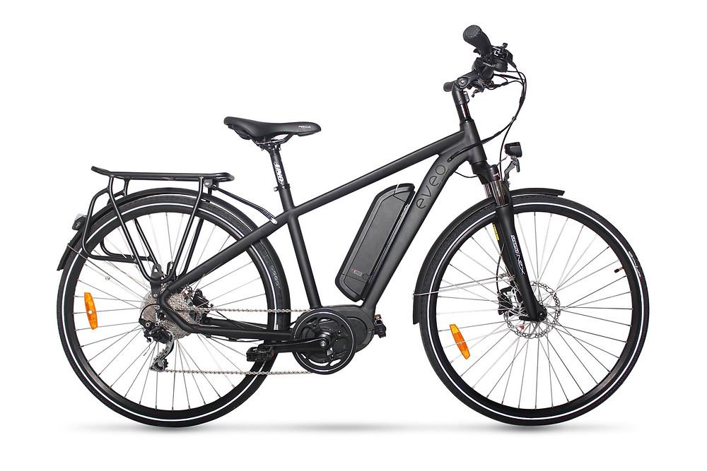 Vélo électrique Eveo 650 disponible sur commande dans votre magasin BIKE & TEST dans les Yvelines.