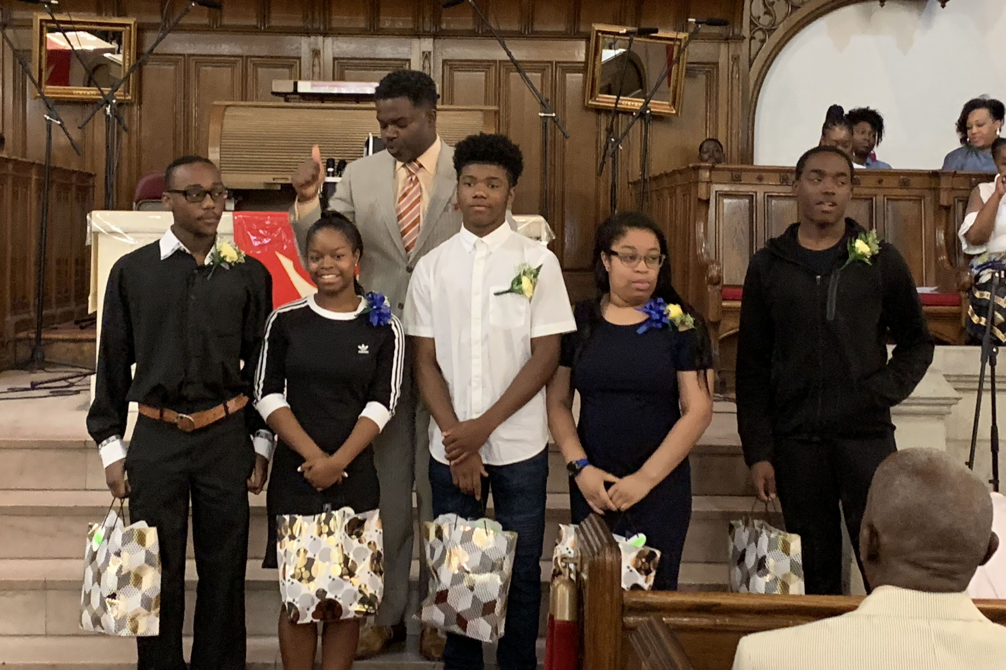 teens and Pastor