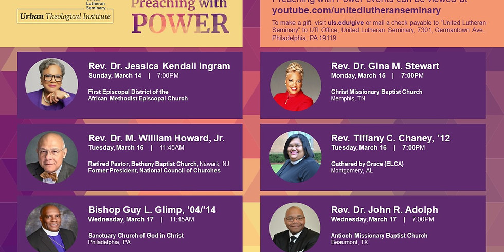 Preaching with Power 2021