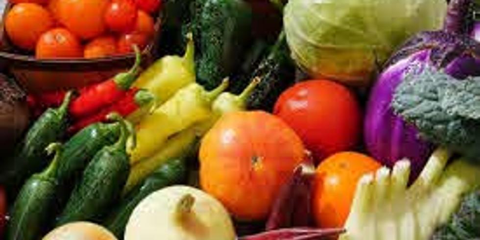 Saturday Drive Through - Produce