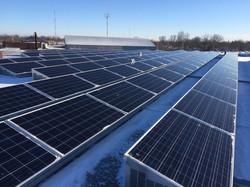 85KW roof mount solar installation