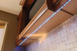 LED undercabinet lighting.