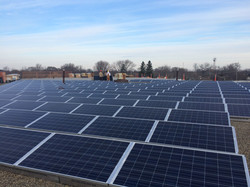 Large commercial solar install