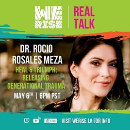 We Rise 2020: Heal & Triumph; Releasing Generational Trauma (Mental Health) Discussion