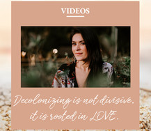 Decolonizing is not divisive, it is rooted in LOVE.