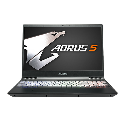 "Gigabyte Aorus 5 15.6"" Notebook With 9th Gen Intel Core i7"
