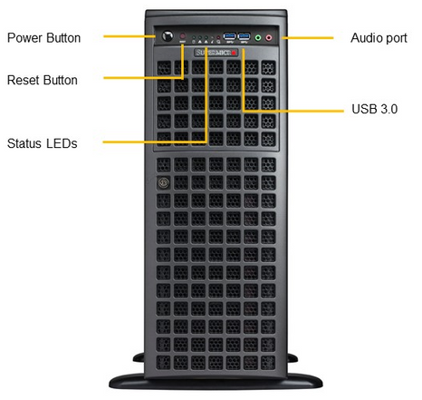 Altezza SX426-16-GPU Front