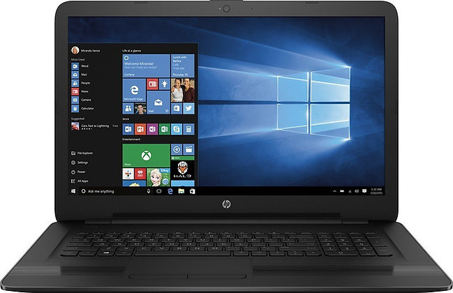"HP 17.3"" Laptop With 10th Gen Intel i7 (ENVY-17t)"