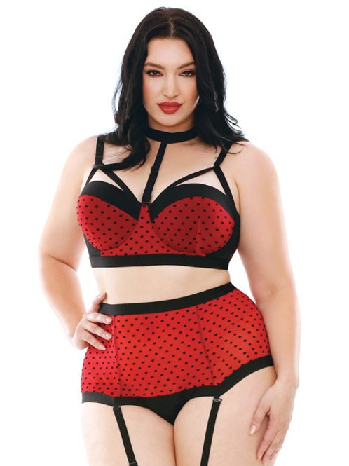Plus Size Valentines Shape of my Heart Contour