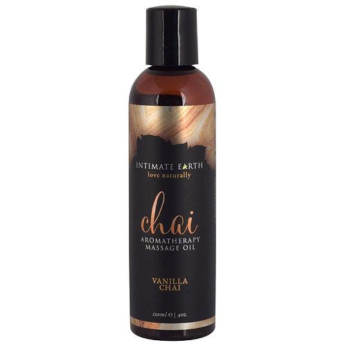 Vanilla Chai Massage Oil- 4oz
