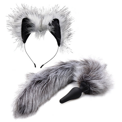 Wolf Tail And Ears Set