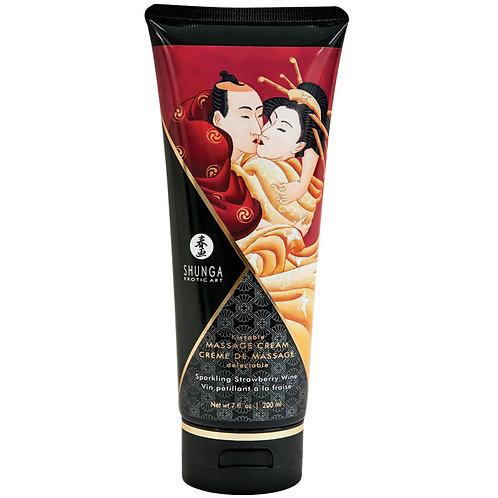 Shunga Kissable Massage Cream-7oz