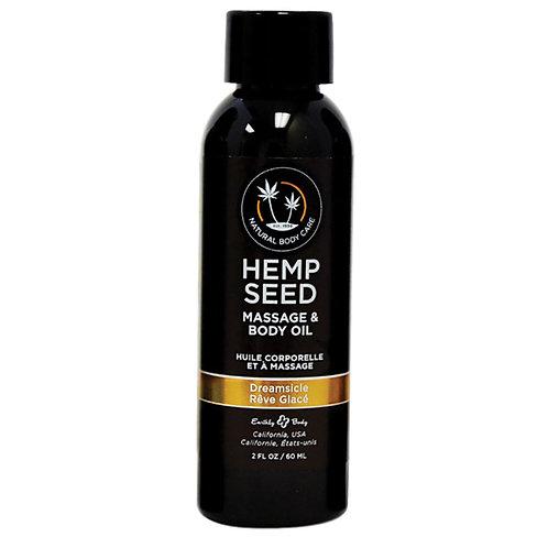 Hemp Seed Massage Oil-Dreamsicle 2oz
