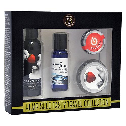 Hemp Seed Tasty Travel Collection