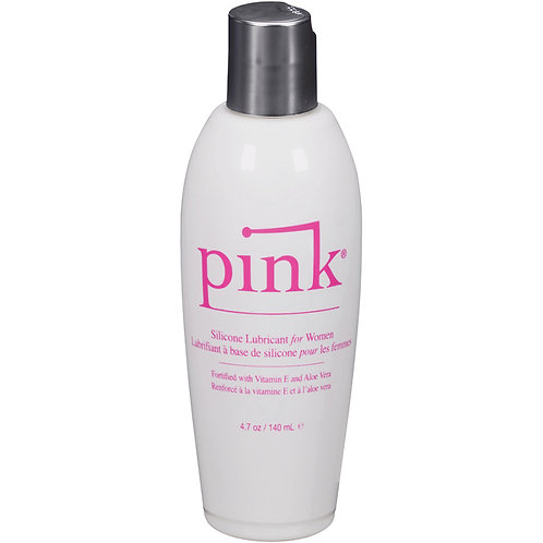 Pink Silicone Lubricant For Women 4.7oz