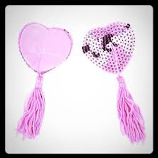 Heart Nipple Tassels