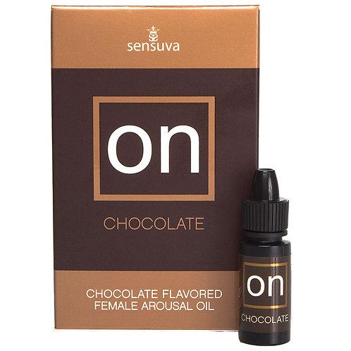 Chocolate Female Arousal Oil 2oz.