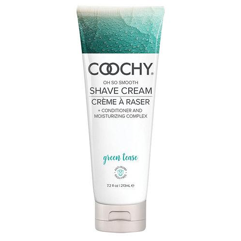Coochy Shave Cream-Green Tease 7.2 oz