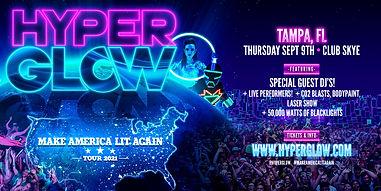 ARTWORK - Hyperglow 2021 Tampa - Eventbr
