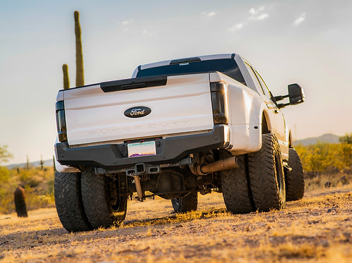 2017 - 2020 Ford Superduty: Alumilite Rear Bumper