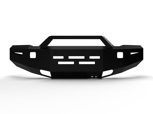 2015 - 2019 Chevrolet HD: Alumilite Front Bumper